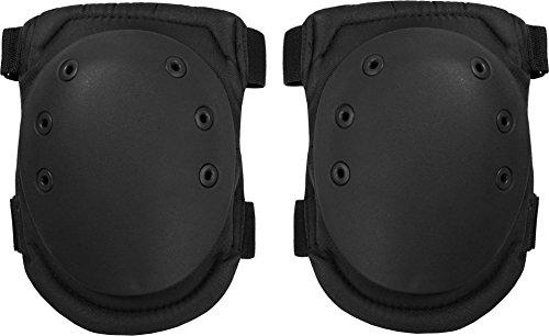 normani Knieschützer mit weichem und dehnbarem Komfortverschluss Farbe Black