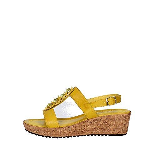 Cinzia Soft IAF2389-2T 002 Sandale Femme Jaune