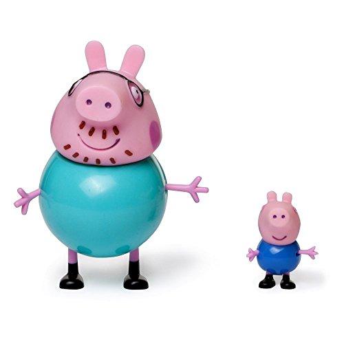 Giochi preziosi - coppia personaggi papà pig e george