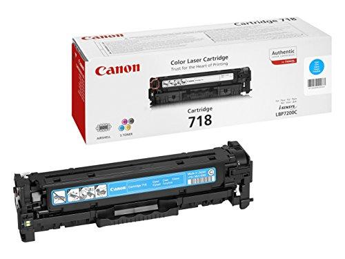 Canon 718C Cartouche toner pour Imprimante laser LBP7200Cdn Cyan