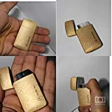 #3: Luxury Designer Metal Refillable Windproof Cigarette Gas Lighter for Men & Women