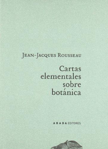 Descargar Libro Cartas Elementales Sobre Botanica (Lecturas de paisaje) de Jean-Jacques Rousseau