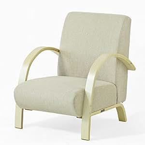 SoBuy® FST26-MI Sofa Canapé 1 Place Bouleau Flexible, Beige