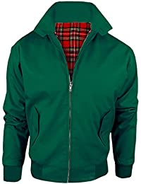 8513357c384 MyShoeStore Vintage Harrington Jacket Adults Unisex Mens Ladies Womens  Harrington Classic Retro Scooter 1970 S Bomber MOD