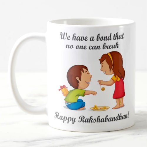 Exciting Lives Raksha Bandhan Mug - Rakhi Gift For Brother