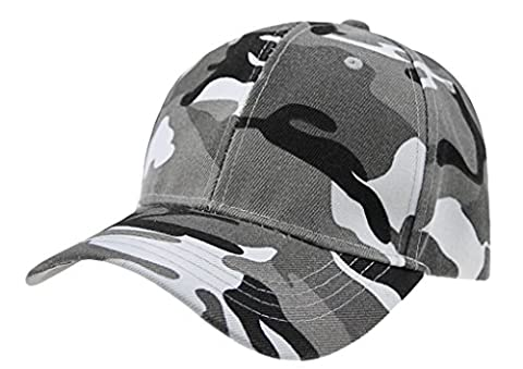 Mens Boys Camouflage Baseball Cap Sun Protection Large Visor Cotton Sun Hats Headwear Breathable Outdoor Sports Cycling Camping Fishing Hunting Travel Beach Tennis Golf Baseball Hat Cap