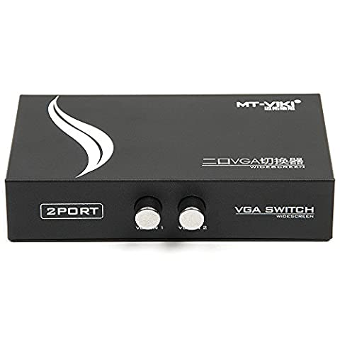 Hakkin VGA SVGA 2 ports vers 1 Sélecteur commutateur boitier