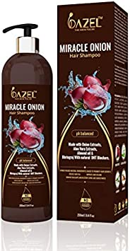 Dazel - The Skin Pulse Onion Shampoo for Hair growth | Sulphate & Paraben Free 2