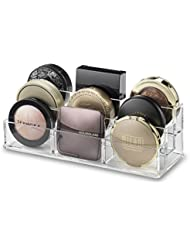 byAlegory Tiered Compact Makeup Organizer | 9 places, 3 niveaux