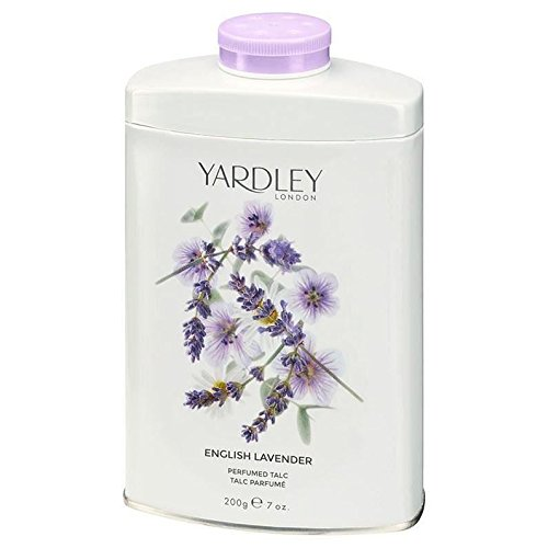 THREE PACKS of Yardley London English Lavender Talc 200g