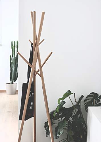 anaan 9 Design Kleiderständer Garderobenständer aus Massivholz