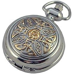 A E Williams 5955TT Celtic ladies pendant/handbag watch