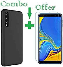 Azzil Back Cover Premium Quality Soft -Combo Candy- Perfect Fit Case Cover for Samsung Galaxy A7 2018