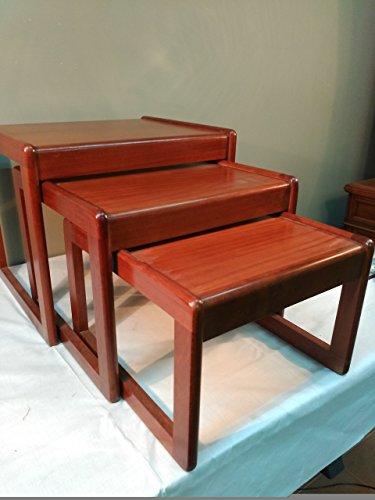 Mesas nido Vintage diseño nordico.