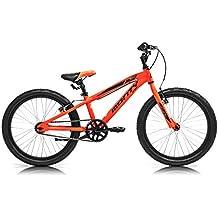 Monty 105 Bicicleta, Unisex Niños, Naranja, Talla Única