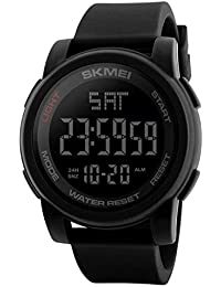 SKMEI Digital Dial Men's Watch-1257 Black