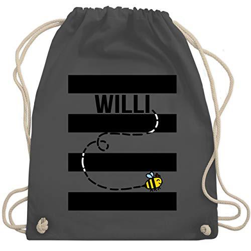 - Bienen Kostüm Willi - Unisize - Dunkelgrau - WM110 - Turnbeutel & Gym Bag ()