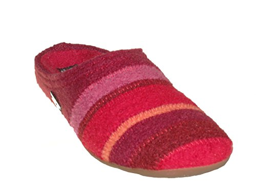 Haflinger Unisex Rosso Prisma 004 481 Pantofole I0RAIrqwW