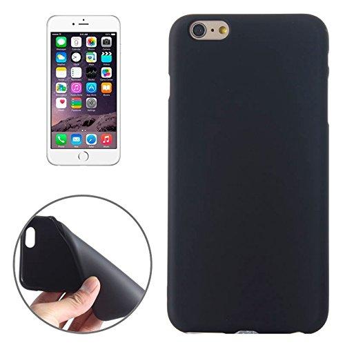 Phone Coque Housse Cover Pour IPhone 6 / 6S, boîtier givré TPU ( Color : Blue ) Black