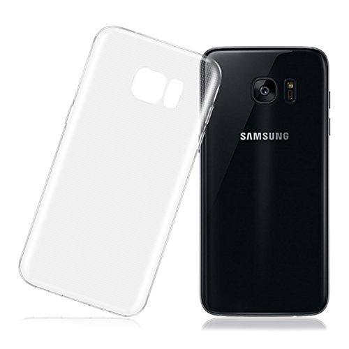 Cover Samsung S7 Edge, LafeiRabbit Silicone Ultra Trasparente Crystal TPU Custodia per Cover Galaxy S7 Edge