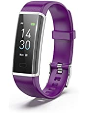 BUXAZ FIT 2 Smart Fitness Band, Activity Tracker with Steps, Calorie Counter, Heart Rate Monitor, IPX8 Waterproof, Multiple Sports Mode for Men, Women and Kids