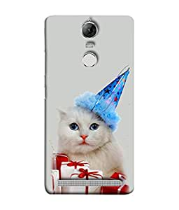 PrintVisa Surprise Gifts For Cat 3D Hard Polycarbonate Designer Back Case Cover for Lenovo K5 Note :: Lenovo Vibe K5 Note Pro