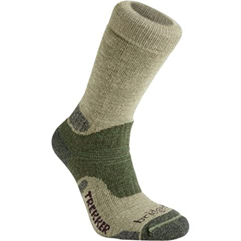 BRIDGEDALE Wool Fusion Trekker Men's Sock, Black, M
