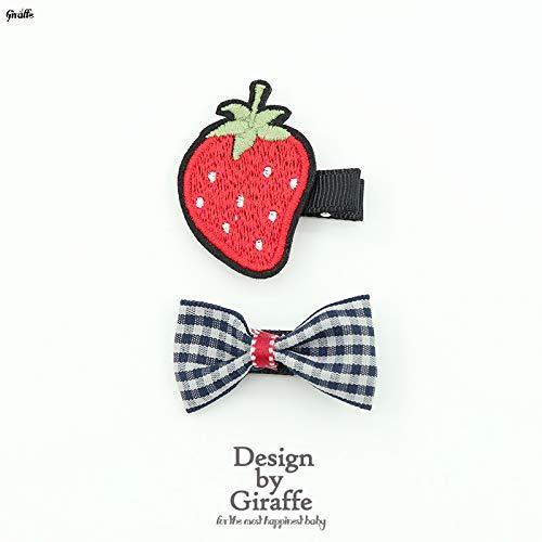 Kinderfrucht, Vogel, Tuch Friseur, Prinzessinkopf, Blumenvorhang und Randklammer, Erdbeere