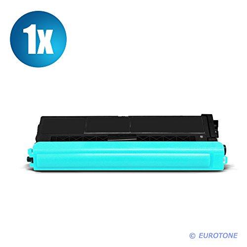 Preisvergleich Produktbild 1x Eurotone Toner für Brother DCP-L 8400 8450 CDW CDN ersetzt TN-326C Cyan TN326C Blau