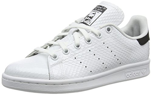 official photos 5ac44 9ad2c adidas Stan Smith W - Zapatillas para mujer, color blanco   negro, talla 36