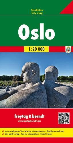 Oslo 1:20.000: Stadskaart 1:20 000 City