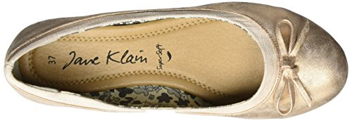 Jane Klain Damen 221 794 Geschlossene Ballerinas Gold (GOLDROSE)