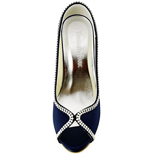 Elegantpark ,  Scarpe col tacco donna Blu Marina