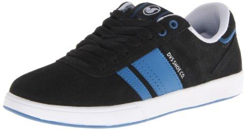 DVS Fulham, Chaussures de skateboard homme Noir (Black Suede)