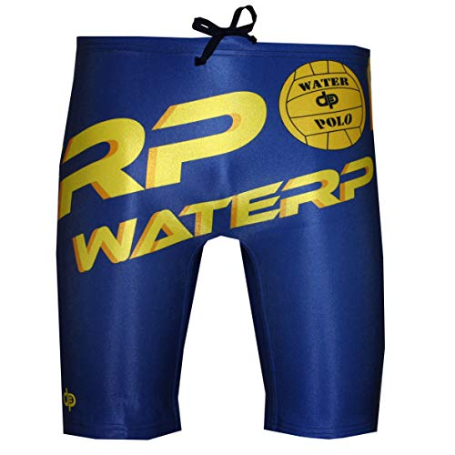 Diapolo Waterpolo Professioneller Schwimmhose Badehose Boxerhose Shorts Boxershorts Schwimmshorts Badeshorts für Herren Männer Bermuda S M L XL XXL (XL)
