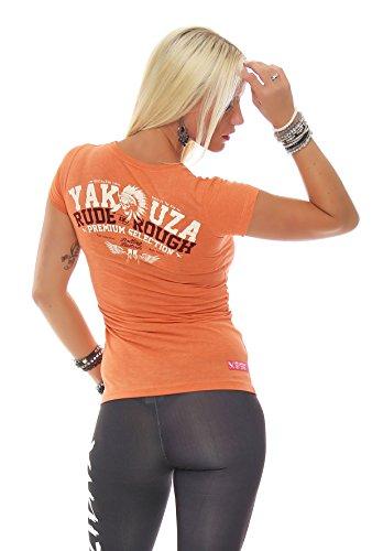 Yakuza Premium Damen T-Shirt GS-2135 Orange