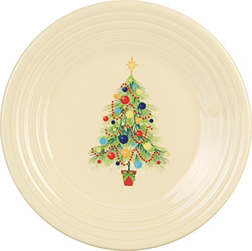 Fiesta 9-Inch Luncheon Plate, Christmas Tree by Homer Laughlin - China Christmas Tree