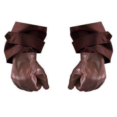 Rubies Kost-me 180079 Watchmen Rorschach Erwachsene Handschuhe Brown One-Size