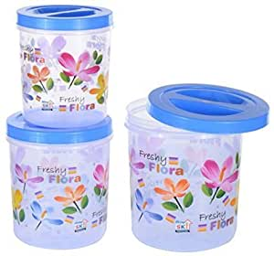 Plastic Containers Set 5000 ML 7500 ML 1 ML Set of 3