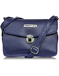 Fantosy Women Blue Party Sling Bag (blue) (FNSB-217)