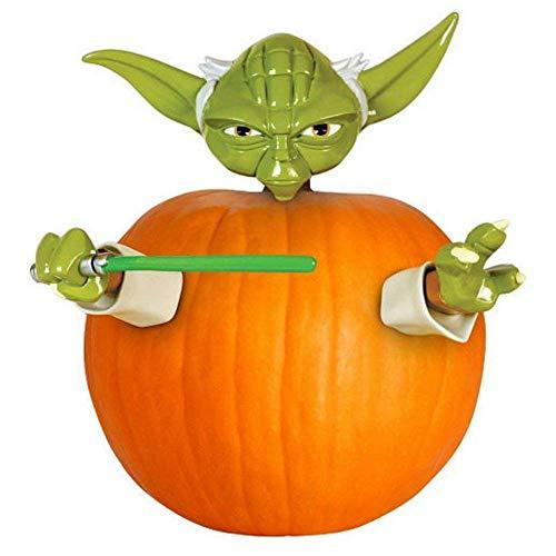 Gemmy Kürbis Pumpkin Dekoration Bastel Set Kürbis anmalen und dekorieren Diseny Star Wars Yoda