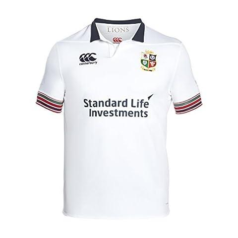 Canterbury Men's Training Short Sleeve Pro Jersey, Bright White, Medium