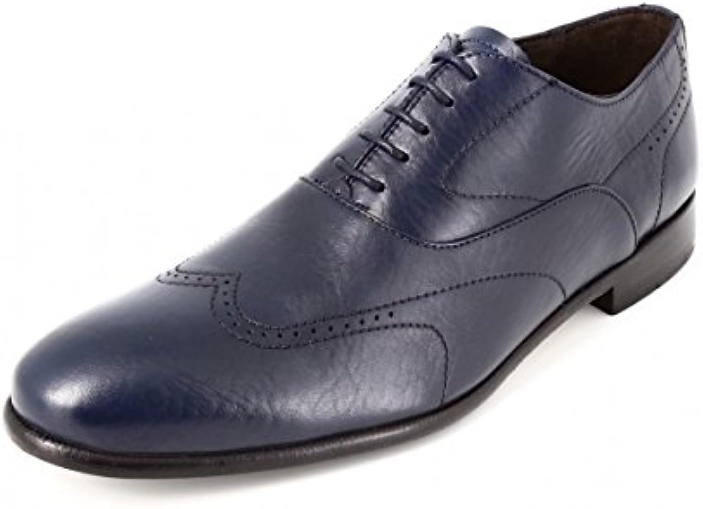 belym RBM705 - Zapatos de Cordones de Piel Lisa Hombre -