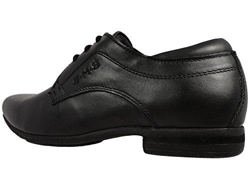 Buckle My Shoe  Barnes/Rush,  Jungen Halbschuhe Schwarz; zum Schnüren