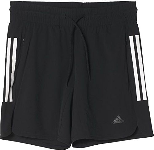 adidas Damen Climalite Workout Shorts, Black, M