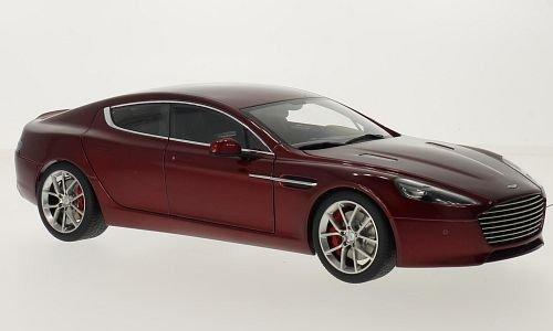 Aston Martin Rapide S, metallic-rouge foncé, 2015, voiture miniature, Miniature déjà montée, AutoArt 1:18