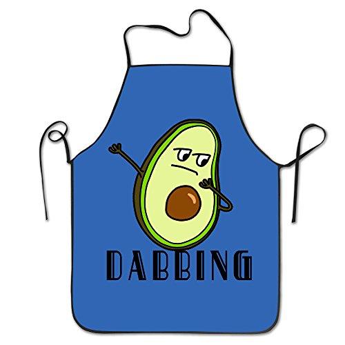 Hip Hop Dabbing Dab Dance Avocado Unisex Cooking Kitchen Aprons Chef Apron Bib