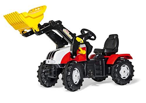 Rolly Toys Trettraktor Rolly Toys 046317 - rollyFarmtrac Steyr CVT 6240 (für Kinder von 3 bis 8 Jahren, Sitz verstellbar, Flüsterlaufreifen)