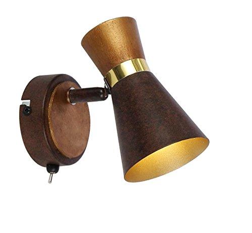 Pared Foco 1techo interior lámpara de pared con interruptor Piso lámpara de...