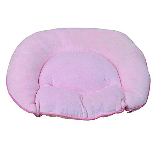 Stuhlmatte Moderne minimalistische Sitzkissen Auto Kissen atmungsaktiv Verdickung Büro Kissen ( Farbe : Pink )
